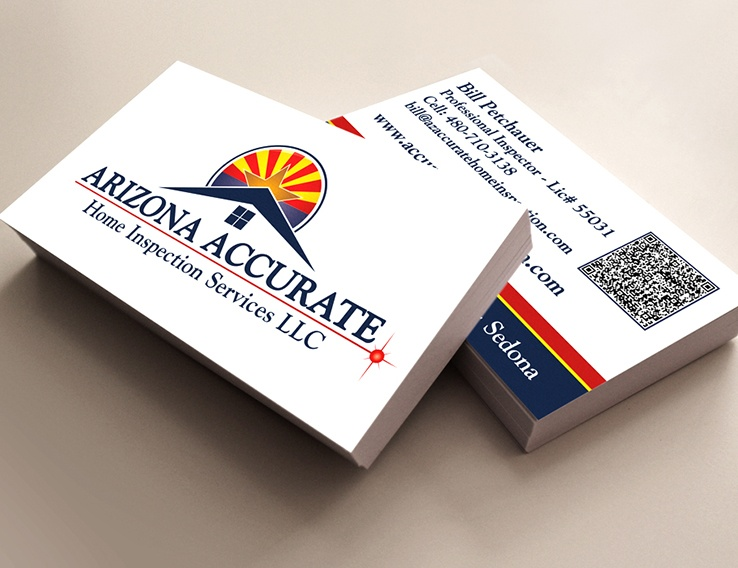Arizona Accurate Home Inspection Services – Business Card