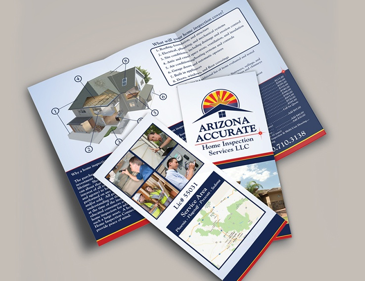 Arizona Accurate Home Inspection Services – TriFold Brochure