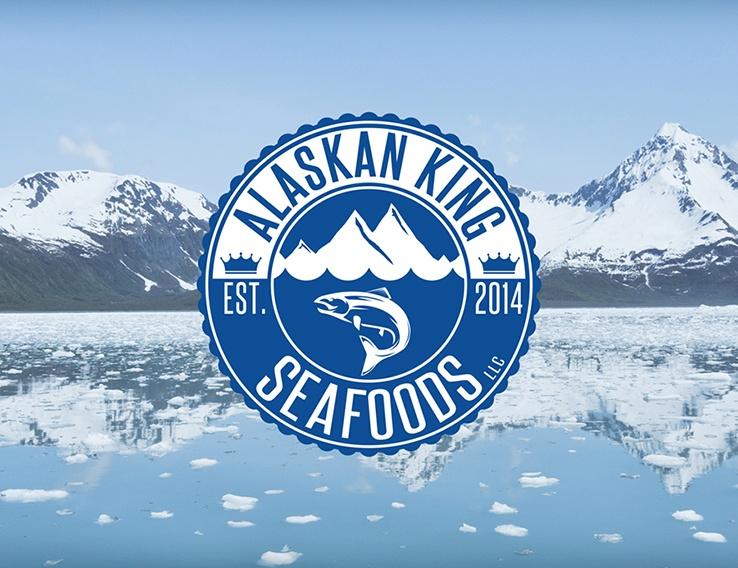 Alaskan King Seafoods – Logo