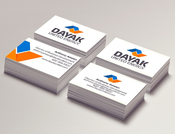 Dayak United Energy – Business Cards
