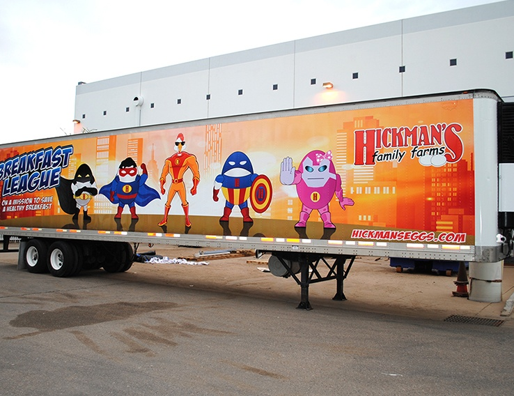 Hickmans Family Farms, Breakfast League – Semi Trailer