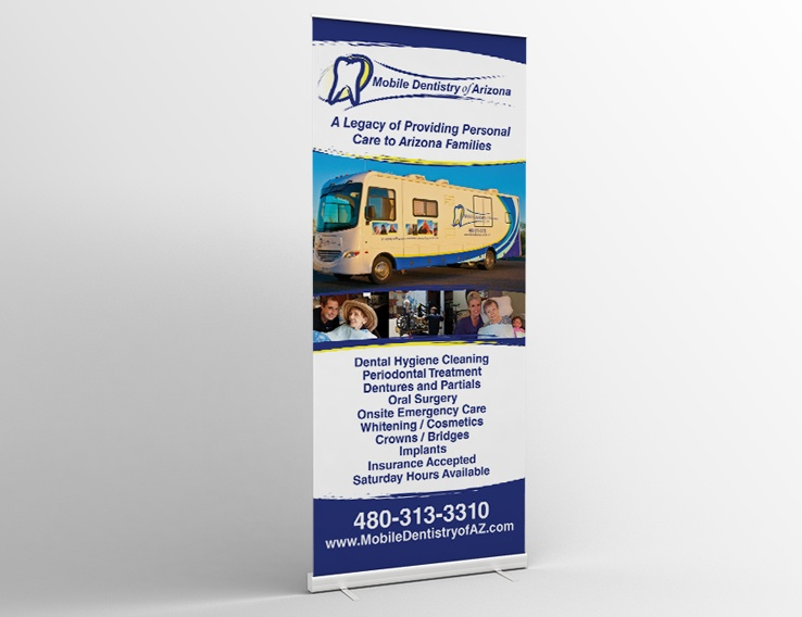 Mobile Dentistry of Arizona – Banner Stand