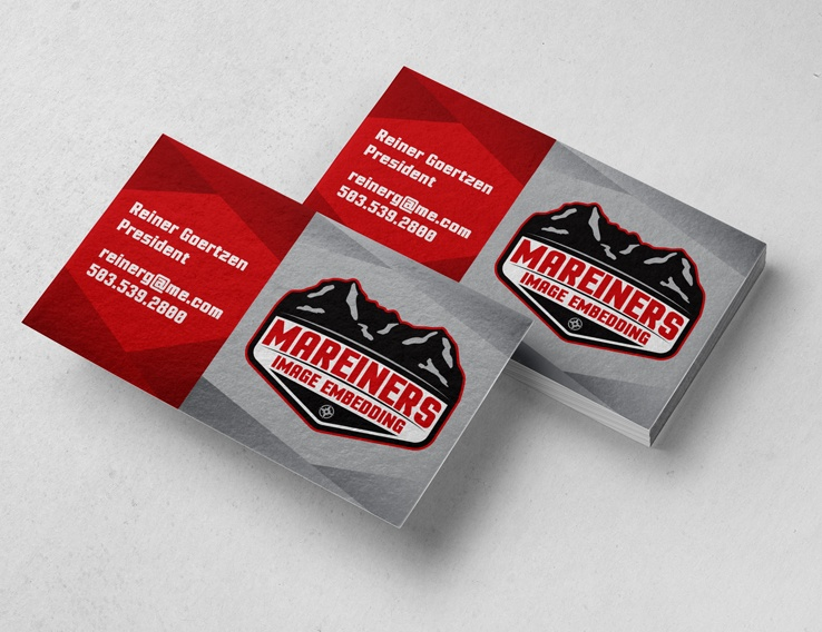 Mareiners Image Embedding – Business Card