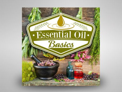 Essential Oil Basics – Logo/Podcast Cover