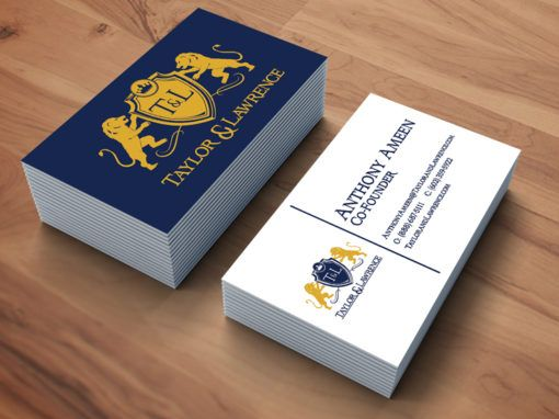 Taylor & Lawrence – Business Card