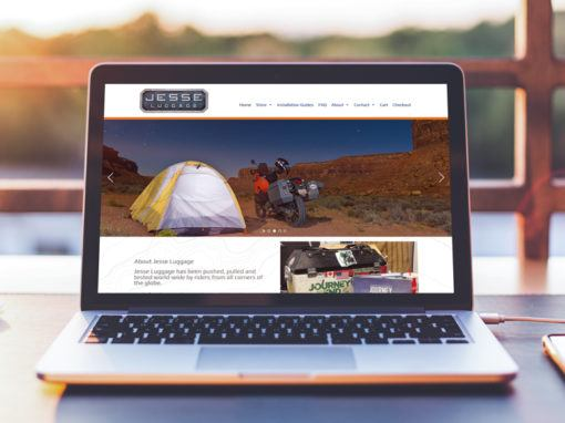 Jesse Luggage – Website
